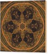 Abstract 105b Wood Print