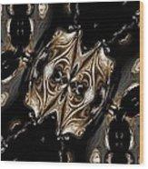 Abstract 131 Wood Print