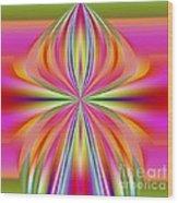 Abstract 153 Wood Print