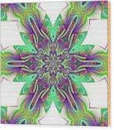 Abstract 156 Wood Print