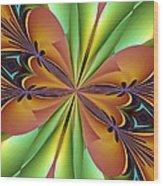 Abstract 159 Wood Print