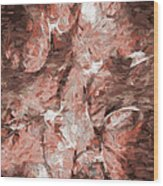Abstract Series16 Wood Print