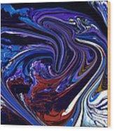 Abstract 170 Wood Print