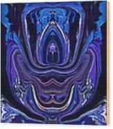 Abstract 174 Wood Print