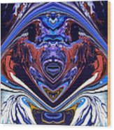 Abstract 179 Wood Print