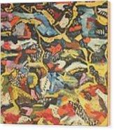 Abstract 1957 Wood Print