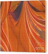 Abstract 201 Wood Print