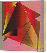Abstract 2010 Wood Print