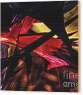 Abstract 2013 Wood Print