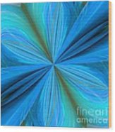 Abstract 221 Wood Print
