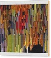 Abstract- 24 Wood Print