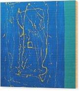Abstract 2a Wood Print