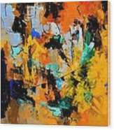Abstract 315002 Wood Print