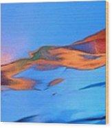 Abstract 3419 Wood Print