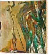 Abstract 3635 Wood Print