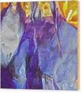 Abstract 3758 Wood Print
