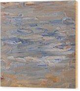 Abstract 408 Wood Print