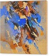 Abstract 4110212 Wood Print