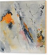 Abstract 416032 Wood Print