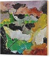 Abstract 44501 Wood Print