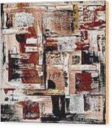 Abstract 524-11-13 Marucii Wood Print