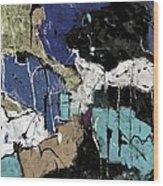 Abstract 553150802 Wood Print