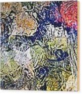Abstract 63 Wood Print