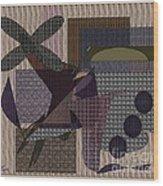 Abstract 650 Wood Print