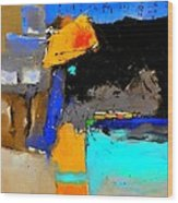 Abstract 664150 Wood Print
