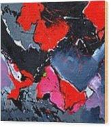 Abstract 673121 Wood Print