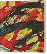 Abstract 73 Wood Print