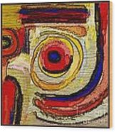 Abstract 857 Wood Print