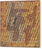 Abstract 878 Wood Print
