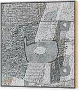 Abstract 880 Wood Print