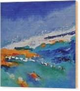 Abstract 88319091 Wood Print