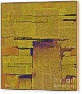 Abstract 884 Wood Print