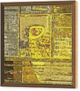 Abstract 894 Wood Print
