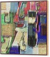 Abstract 927 Wood Print