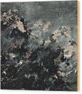 Abstract 9712072 Wood Print