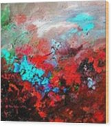 Abstract 975231 Wood Print