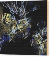Abstract A07 Wood Print