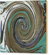 Abstract Abby Wood Print