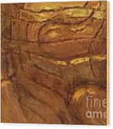 Behold - Abstract Art Wood Print