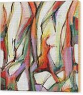 Abstract Art Forty-six Wood Print