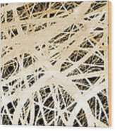abstract- art- Neurons Wood Print