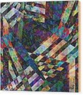 abstract - art - Tilt Two Wood Print