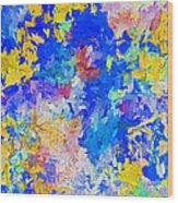 Abstract Series B10 Wood Print