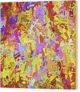 Abstract Series B6 Wood Print