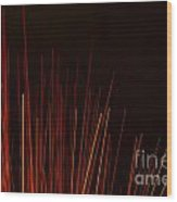 Abstract Background Of Red Sticks Wood Print