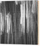 Abstract Black And White Composition Wood Print